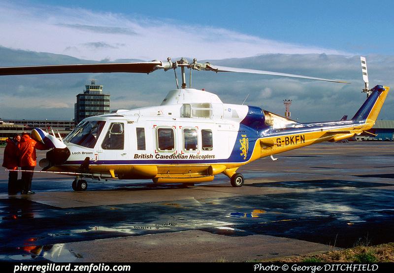 Pierre GILLARD: United Kingdom - British Caledonian Helicopters &emdash; 024415