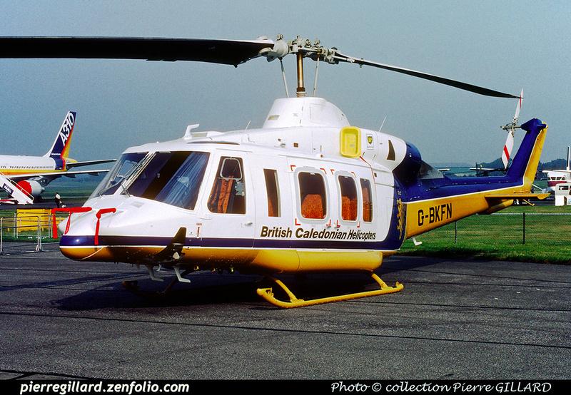 Pierre GILLARD: United Kingdom - British Caledonian Helicopters &emdash; 024414