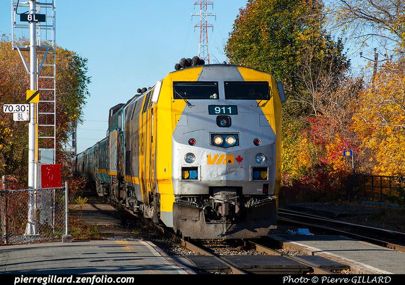 Pierre GILLARD: Canada : VIA Rail Canada &emdash; 2019-532040