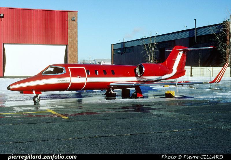 Pierre GILLARD: LearJet 36 C-XPWC &emdash; 005727