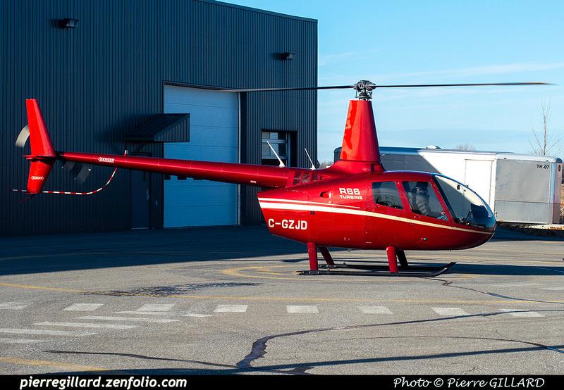Pierre GILLARD: Canada - Hélicoptères privés - Private Helicopters &emdash; 2019-623414