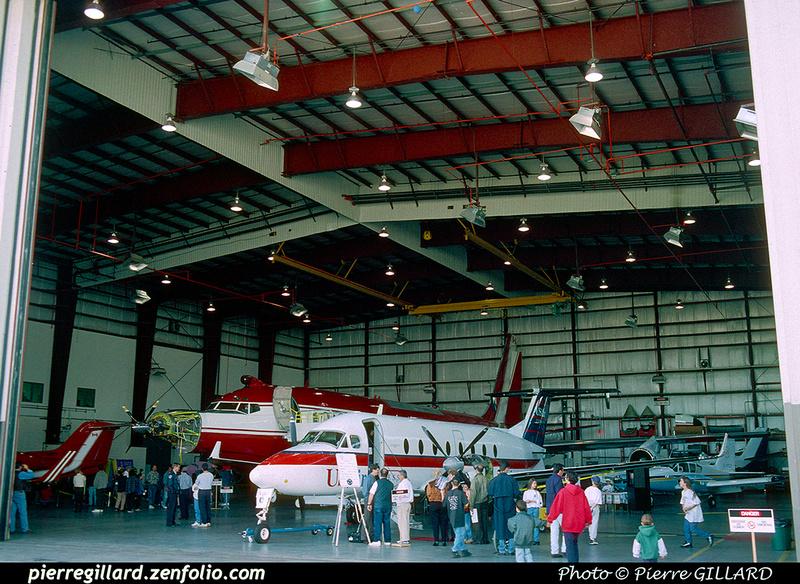 Pierre GILLARD: 1996-09-29 - Portes ouvertes chez Pratt & Whitney Canada &emdash; 1996-0639