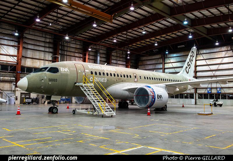 Pierre GILLARD: Bombardier CSeries CS100 C-GWXJ &emdash; 2019-623436