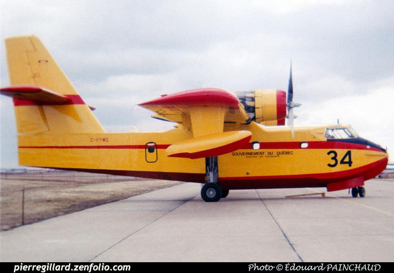 Pierre GILLARD: Canada - Service aérien gouvernemental (Québec) &emdash; 007907