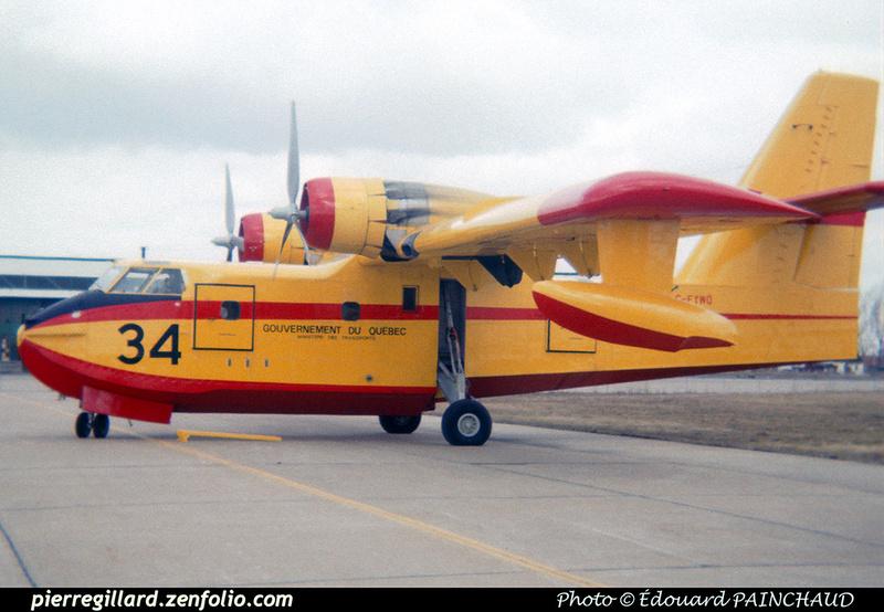 Pierre GILLARD: Canada - Service aérien gouvernemental (Québec) &emdash; 007906