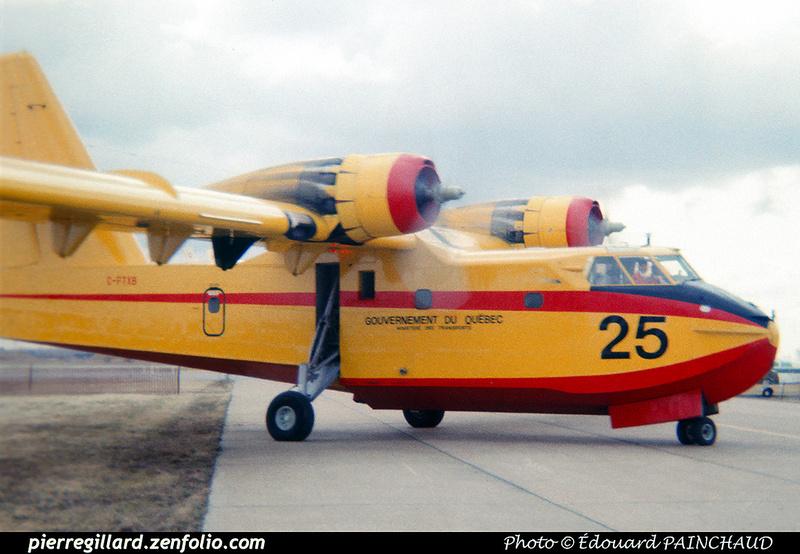 Pierre GILLARD: Canada - Service aérien gouvernemental (Québec) &emdash; 007908