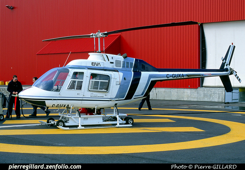 Pierre GILLARD: Bell 206B Jet Ranger II C-GUXA &emdash; 2002-0031