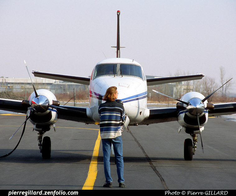 Pierre GILLARD: Beechcraft King Air 90 C-FUFW &emdash; 2002-0028