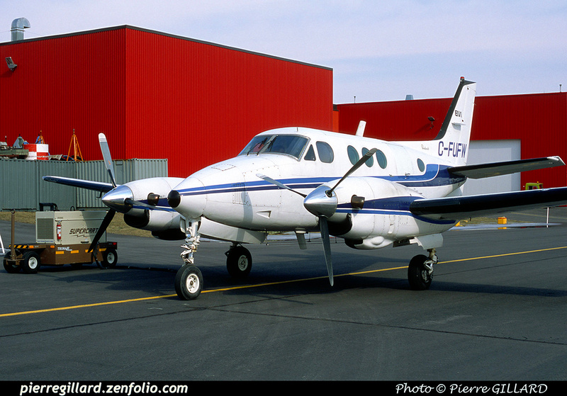 Pierre GILLARD: Beechcraft King Air 90 C-FUFW &emdash; 2002-0029