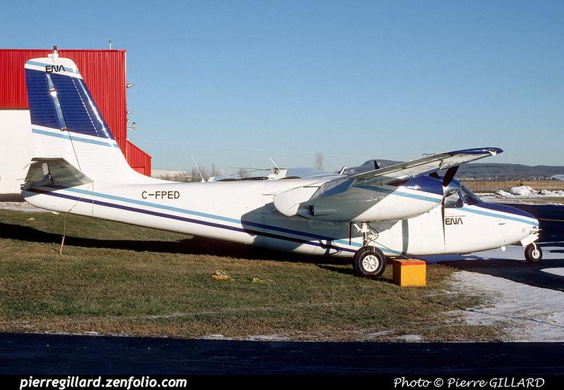 Pierre GILLARD: AeroCommander C-FPED &emdash; 2002-0645
