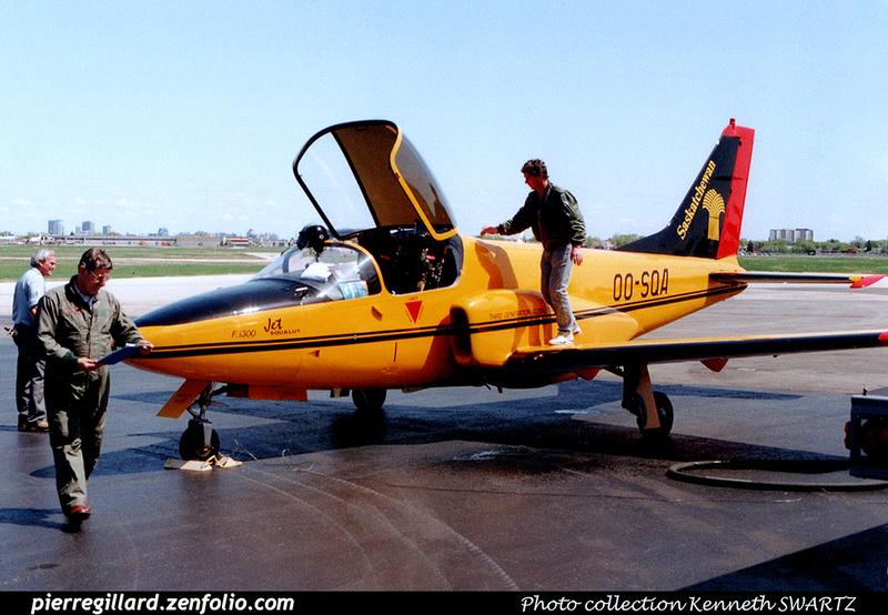 Pierre GILLARD: Belgium - Promavia F.1300 Jet Squalus &emdash; 030507