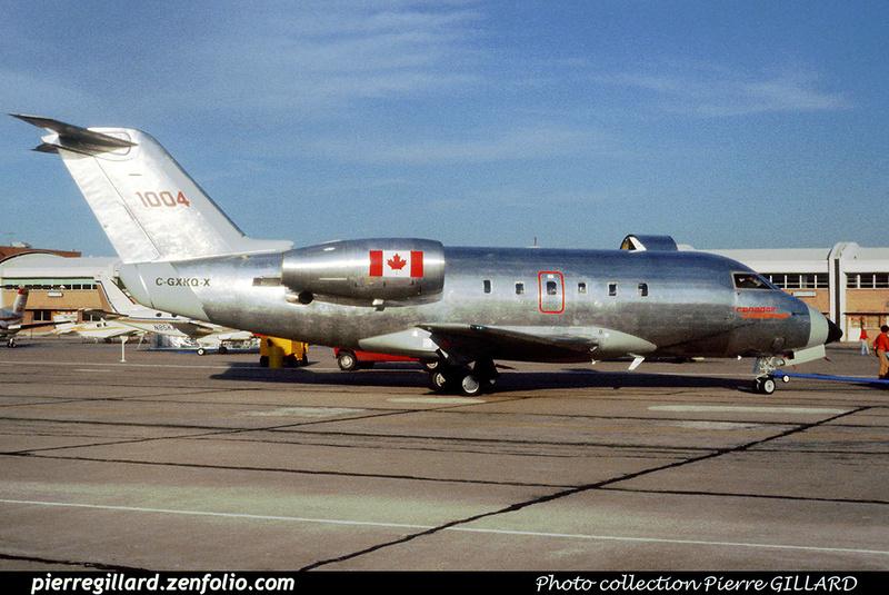 Pierre GILLARD: Canada - Canadair &emdash; 020006