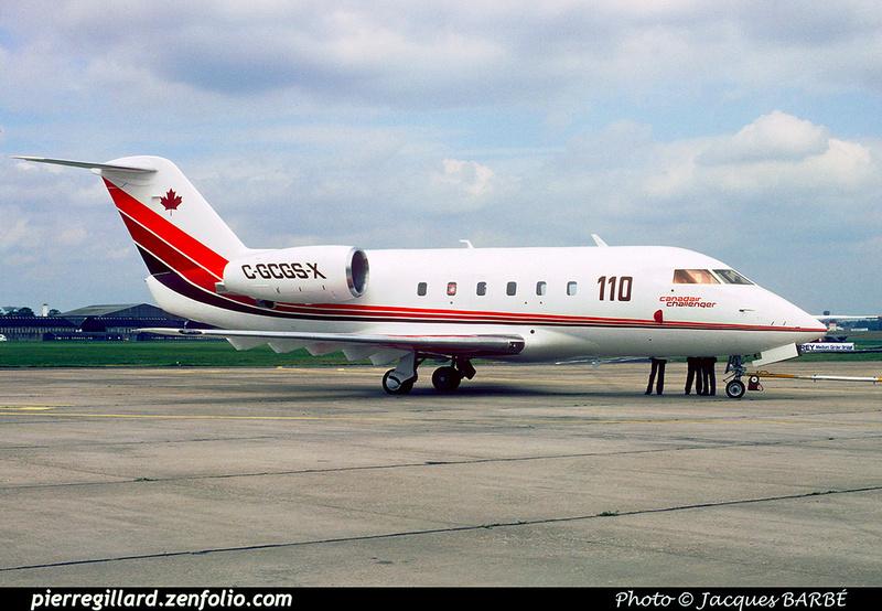 Pierre GILLARD: Canada - Canadair &emdash; 020005