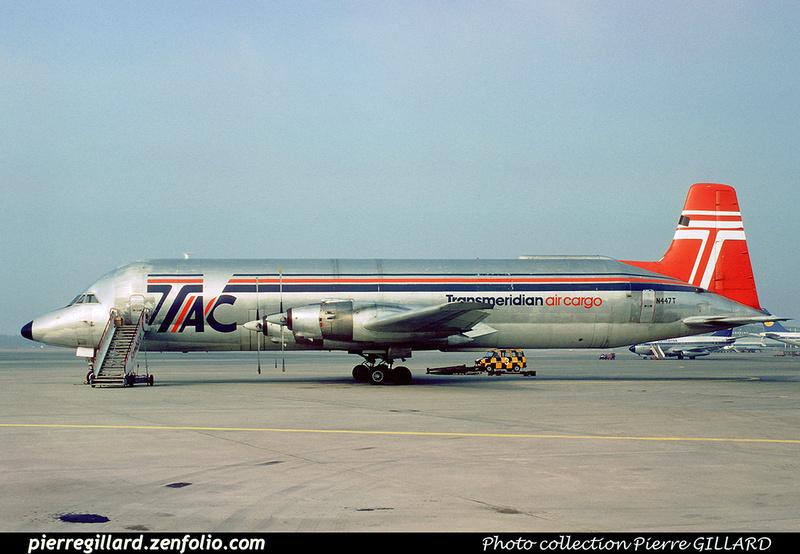 Pierre GILLARD: Transmeridian Air Cargo &emdash; 008466
