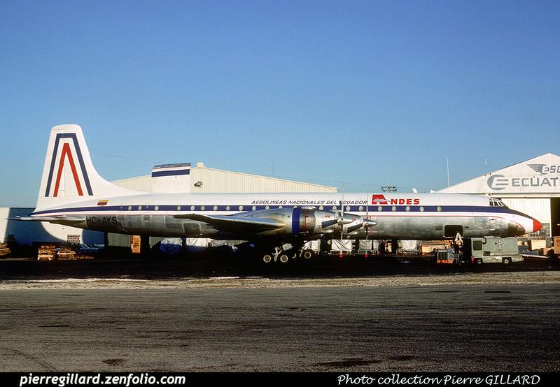 Pierre GILLARD: ANDES - Aerolineas Nacionales del Ecuador &emdash; 008463