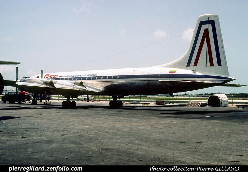 Pierre GILLARD: ANDES - Aerolineas Nacionales del Ecuador &emdash; 008465