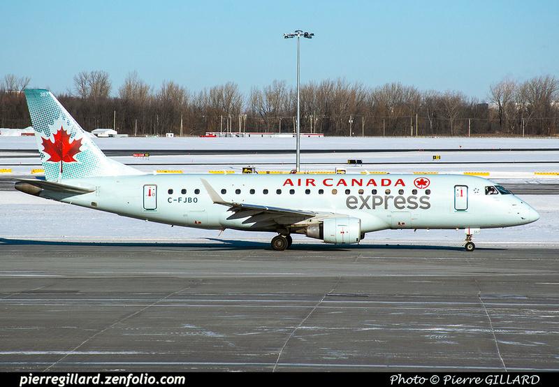 Pierre GILLARD: Air Canada Express &emdash; C-FJBO-2020-532214