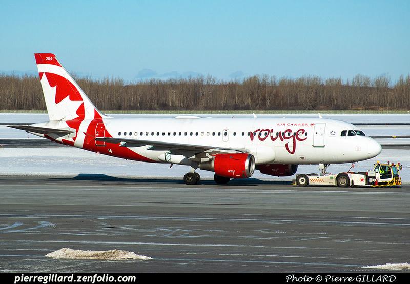 Pierre GILLARD: Air Canada Rouge &emdash; 2020-532235