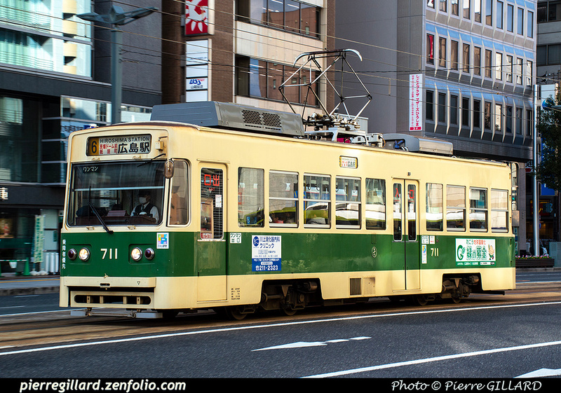 Pierre GILLARD: Japon : Hiroshima Electric Railway - 広島電鉄 &emdash; 2020-532317