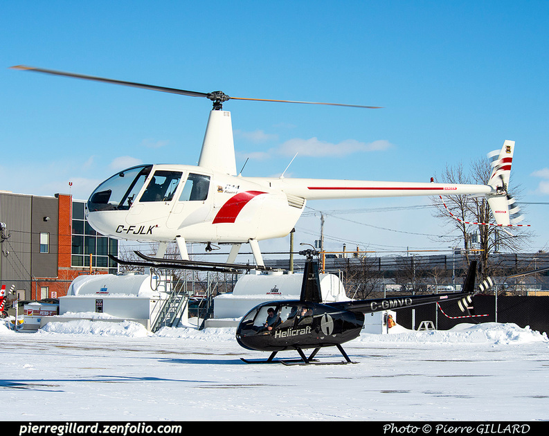 Pierre GILLARD: Canada - Hélicoptères privés - Private Helicopters &emdash; 2020-426257