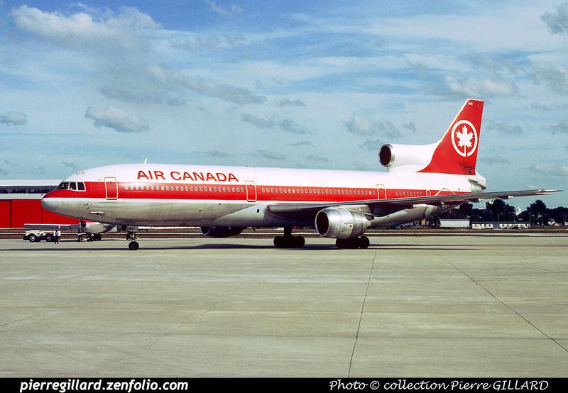 Pierre GILLARD: Air Canada &emdash; 023492