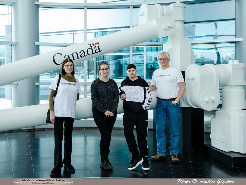 """Pierre GILLARD: 2020-02-28 - Activité """"Le Canada dans l'espace"""" avec les jeunes de la Maison de Jonathan &emdash; 2020-713546"""