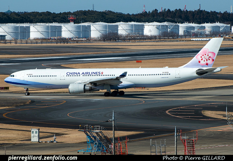Pierre GILLARD: China Airlines - 中華航空 &emdash; 2020-900708