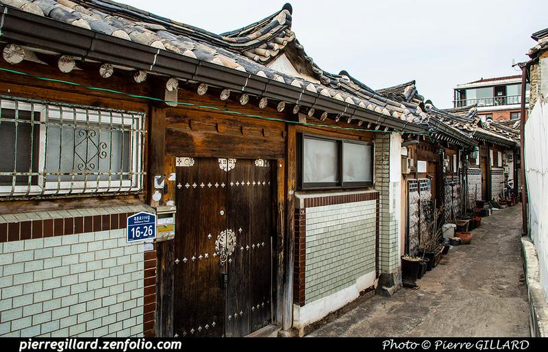 Pierre GILLARD: Séoul (서울) - Bukchon Hanok Village (북촌한옥마을) &emdash; 2020-534931