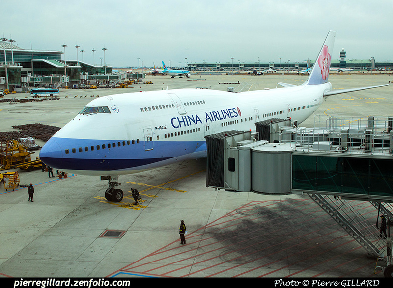 Pierre GILLARD: China Airlines - 中華航空 &emdash; 2020-535169