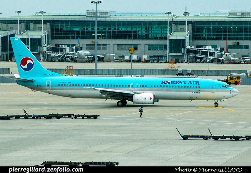Pierre GILLARD: Korean Air - 대한항공 &emdash; 2020-900815