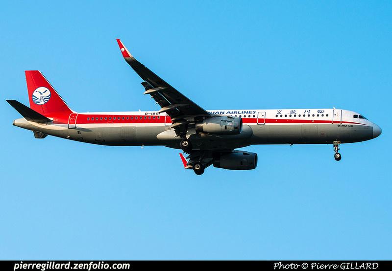 Pierre GILLARD: Sichuan Airlines - 四川航空 &emdash; 2020-901069