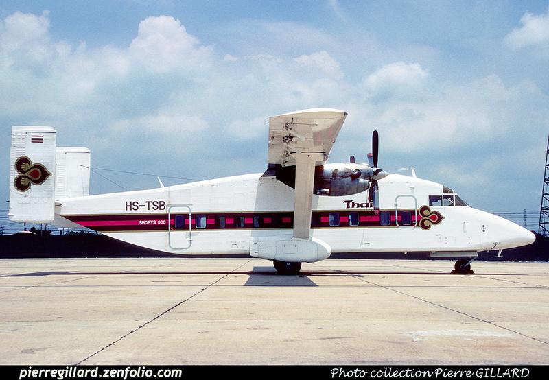 Pierre GILLARD: Thai Airways - บริษัท การบินไทย จำกัด &emdash; 040052