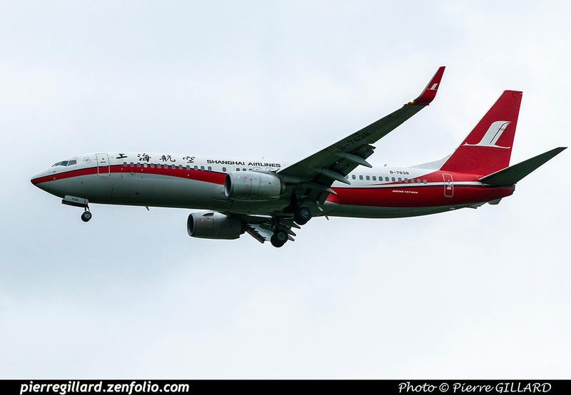 Pierre GILLARD: Shanghai Airlines - 上海航空公司 &emdash; 2020-900867