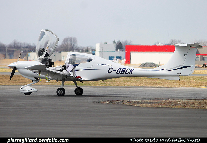 Pierre GILLARD: Private Aircraft - Avions privés : Canada &emdash; 030528