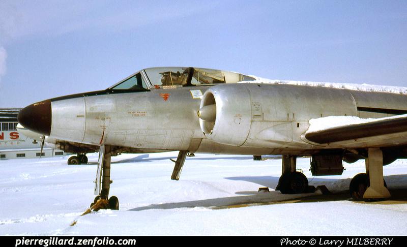 Pierre GILLARD: Avro CF-100 Canuck #18170 &emdash; 030534