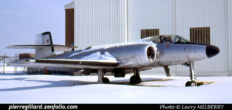 Pierre GILLARD: Avro CF-100 Canuck #18170 &emdash; 030532