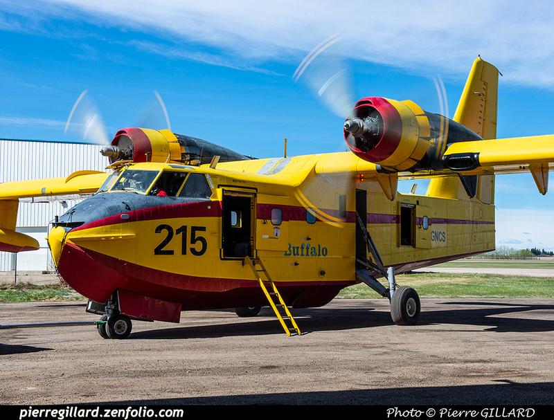 Pierre GILLARD: Canadair CL215 &emdash; 2020-426857