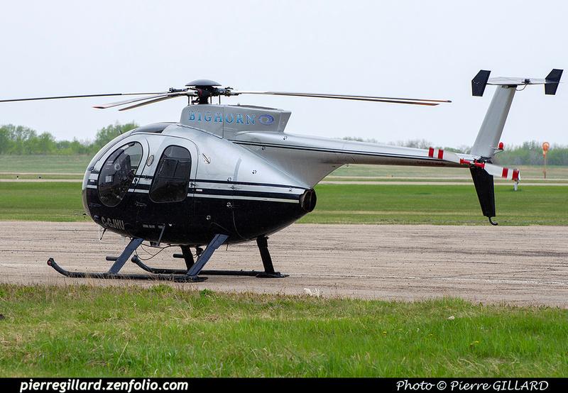 Pierre GILLARD: Canada - Bighorn Helicopters &emdash; 2020-803892