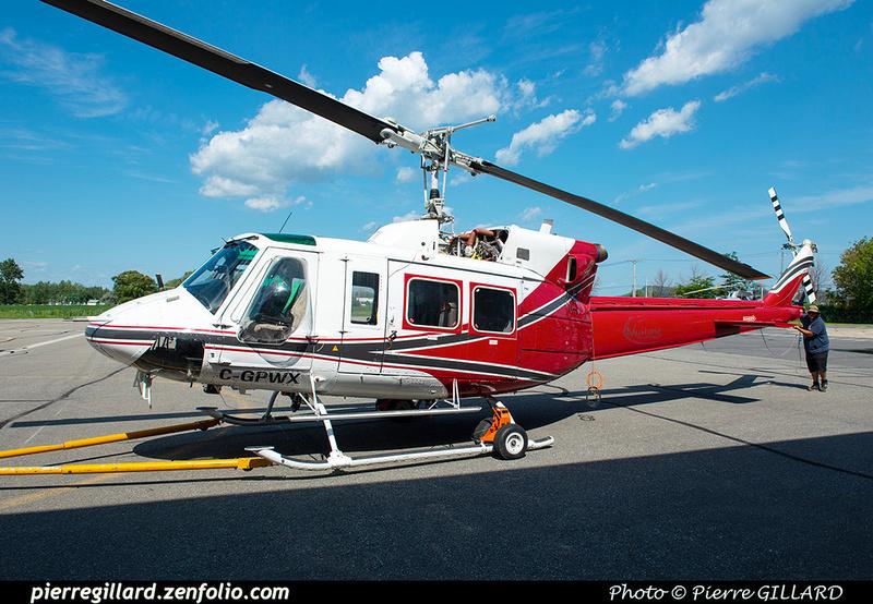 Pierre GILLARD: Canada - Mustang Helicopters &emdash; 2020-427771