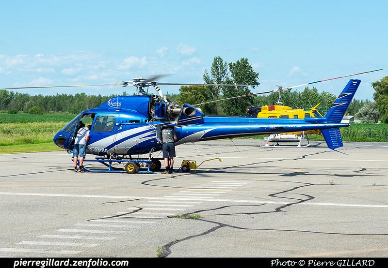 Pierre GILLARD: Canada - Mustang Helicopters &emdash; 2020-427778
