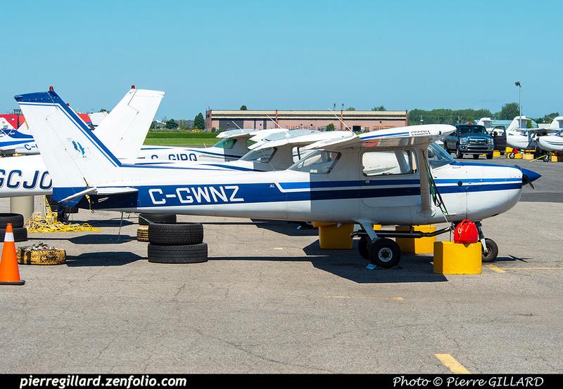 Pierre GILLARD: Aéroclub de Montréal - Air Richelieu &emdash; 2020-625312