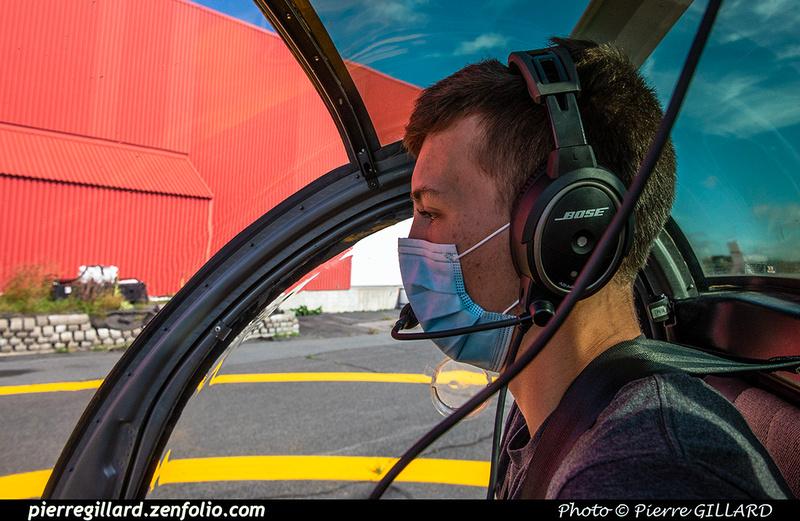 Pierre GILLARD: 2020-09-03 - Vol en hélicoptère par des étudiants de l'ÉNA et survol de l'école &emdash; 2020-427850