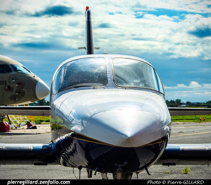 Pierre GILLARD: 2020-09-17 - Arrivée du Cessna 421B C-GADG à l'ÉNA &emdash; 2020-625604
