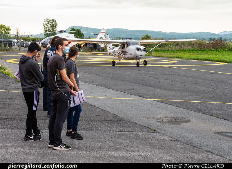 Pierre GILLARD: 2020-09-08, 09 et 16 - Vols d'initiation à l'avionique à l'ÉNA &emdash; 2020-427936