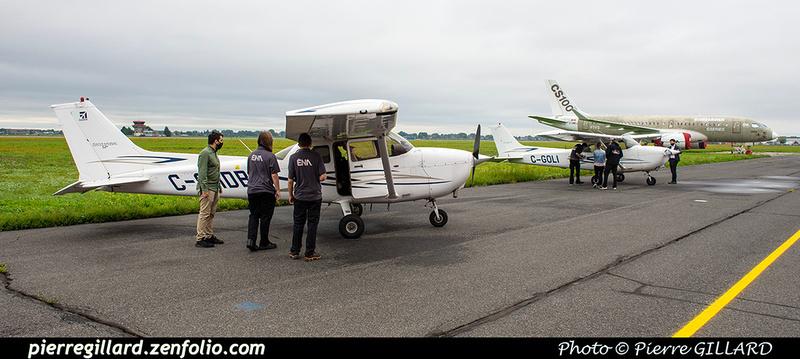 Pierre GILLARD: 2020-09-08, 09 et 16 - Vols d'initiation à l'avionique à l'ÉNA &emdash; 2020-428010