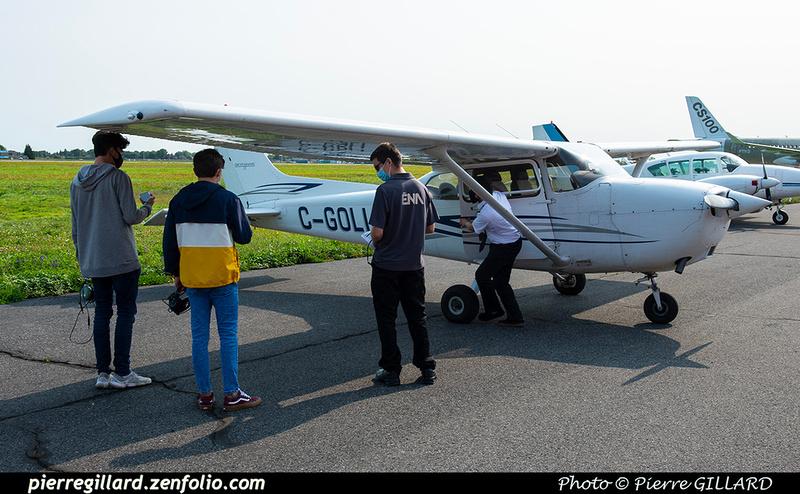 Pierre GILLARD: 2020-09-08, 09 et 16 - Vols d'initiation à l'avionique à l'ÉNA &emdash; 2020-428054