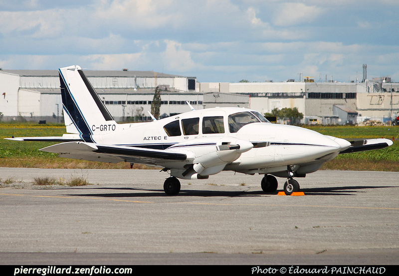Pierre GILLARD: Private Aircraft - Avions privés : Canada &emdash; 030563