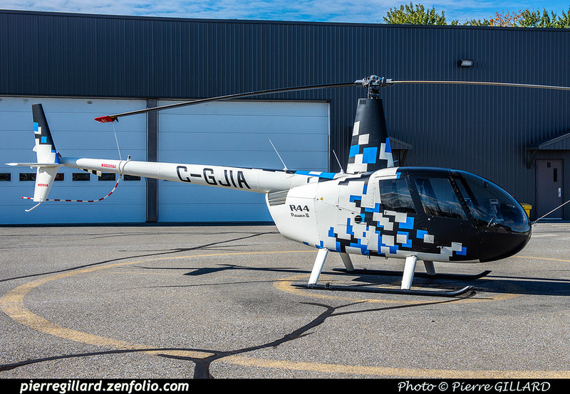 Pierre GILLARD: Canada - Hélicoptères privés - Private Helicopters &emdash; 2020-428218