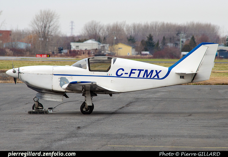 Pierre GILLARD: Private Aircraft - Avions privés : Canada &emdash; 2020-625688