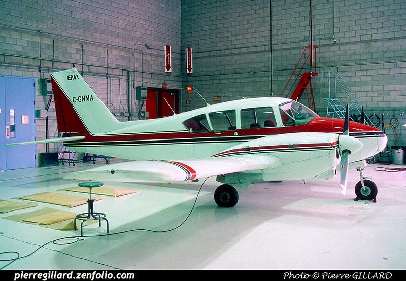 Pierre GILLARD: Piper PA23 C-GNMA &emdash; 048013